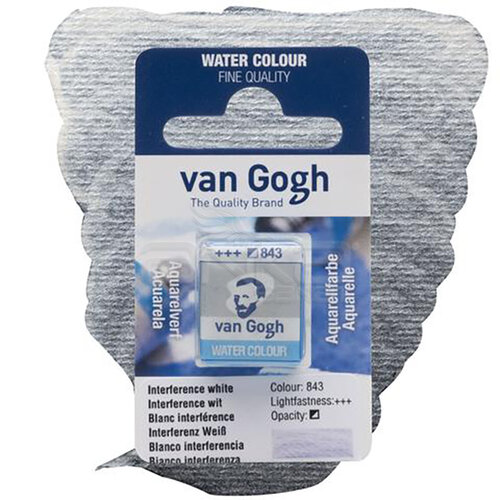 Van Gogh Tablet Sulu Boya Yedek İnterference White 843 - 843 İnterference White