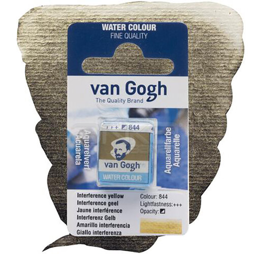 Van Gogh Tablet Sulu Boya Yedek İnterference Yellow 844 - 844 İnterference Yellow