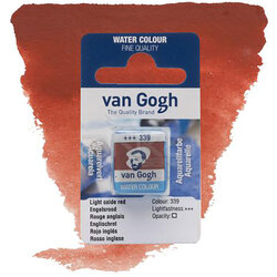 Van Gogh - Van Gogh Tablet Sulu Boya Yedek Light Oxide Red 339