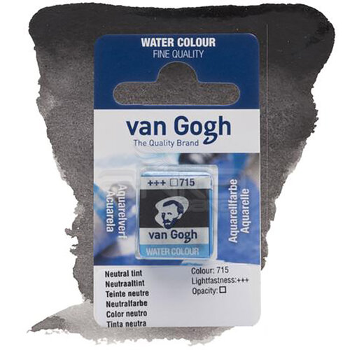 Van Gogh Tablet Sulu Boya Yedek Neutral Tint 715 - 715 Neutral Tint