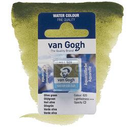 Van Gogh - Van Gogh Tablet Sulu Boya Yedek Olive Green 620