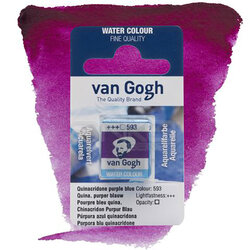 Van Gogh - Van Gogh Tablet Sulu Boya Yedek Oulna Puple Blue 593