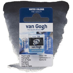 Van Gogh - Van Gogh Tablet Sulu Boya Yedek Paynes Grey 708