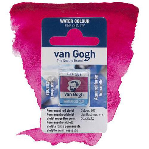 Van Gogh Tablet Sulu Boya Yedek Perm Red Violet 567 - 567 Perm Red Violet