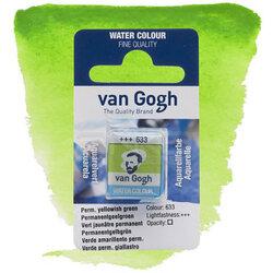 Van Gogh - Van Gogh Tablet Sulu Boya Yedek Perm Yellowish Green 633