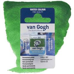 Van Gogh - Van Gogh Tablet Sulu Boya Yedek Permanent Green 662