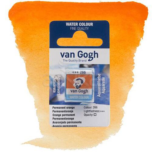 Van Gogh Tablet Sulu Boya Yedek Permanent Orange 266 - 266 Permanent Orange