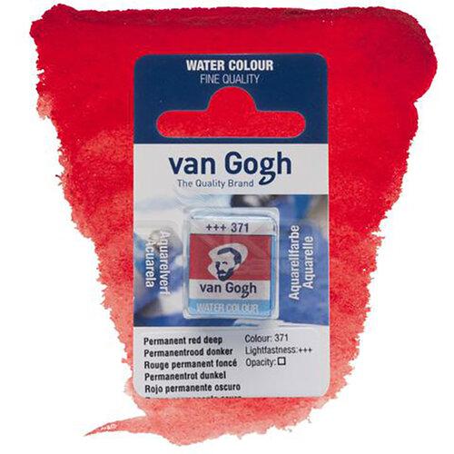 Van Gogh Tablet Sulu Boya Yedek Permanent Red D 371 - 371 Permanent Red D