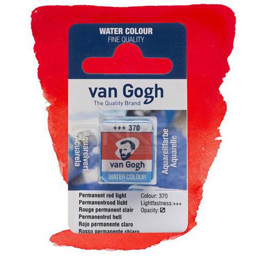 Van Gogh Tablet Sulu Boya Yedek Permanent Red L 370 - 370 Permanent Red L