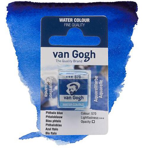 Van Gogh Tablet Sulu Boya Yedek Phthalo Blue 570 - 570 Phthalo Blue