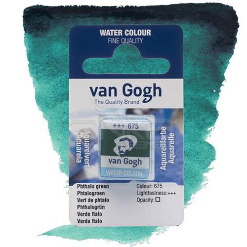 Van Gogh Tablet Sulu Boya Yedek Phthalo Green 675 - 675 Phthalo Green
