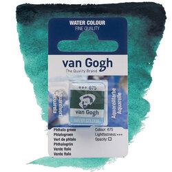 Van Gogh - Van Gogh Tablet Sulu Boya Yedek Phthalo Green 675