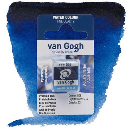 Van Gogh Tablet Sulu Boya Yedek Prussian Blue 508 - 508 Prussian Blue