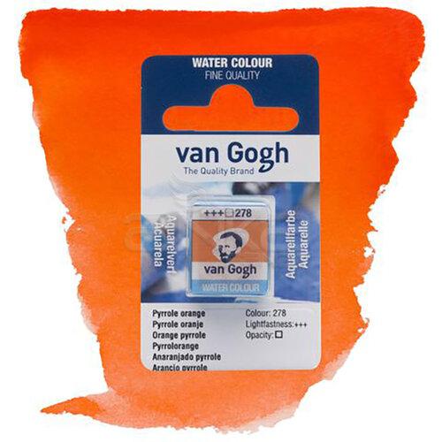Van Gogh Tablet Sulu Boya Yedek Pyrrole Orange 278 - 278 Pyrrole Orange