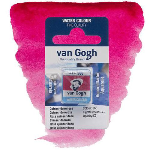 Van Gogh Tablet Sulu Boya Yedek Quinaciridone Rose 366 - 366 Quinaciridone Rose