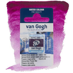 Van Gogh - Van Gogh Tablet Sulu Boya Yedek Qulna Purple Red 592