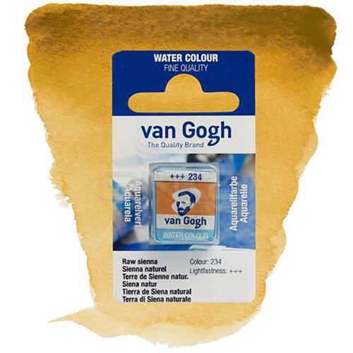 Van Gogh Tablet Sulu Boya Yedek Raw Sienna 234 - 234 Raw Sienna