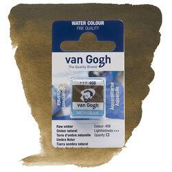 Van Gogh - Van Gogh Tablet Sulu Boya Yedek Raw Umber 408