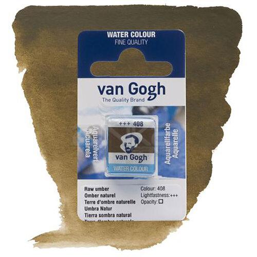 Van Gogh Tablet Sulu Boya Yedek Raw Umber 408 - 408 Raw Umber