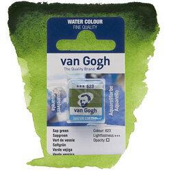 Van Gogh - Van Gogh Tablet Sulu Boya Yedek Sap Green 623