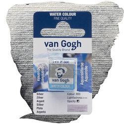 Van Gogh - Van Gogh Tablet Sulu Boya Yedek Silver 800
