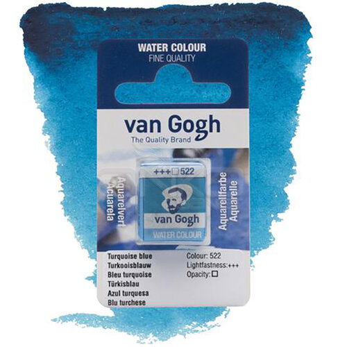 Van Gogh Tablet Sulu Boya Yedek Turquolse Blue 522 - 522 Turquolse Blue