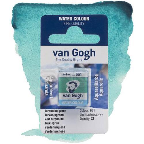 Van Gogh Tablet Sulu Boya Yedek Turquoise Green 661 - 661 Turquoise Green