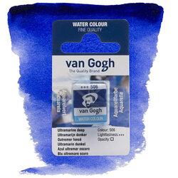 Van Gogh - Van Gogh Tablet Sulu Boya Yedek Ultramarine Deep 506
