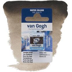 Van Gogh - Van Gogh Tablet Sulu Boya Yedek Vandyke Brown 403