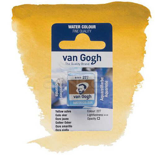 Van Gogh Tablet Sulu Boya Yedek Yellow Ochre 227 - 227 Yellow Ochre