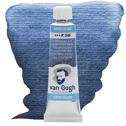 Van Gogh Tüp Sulu Boya 10ml İnterference Blue 846