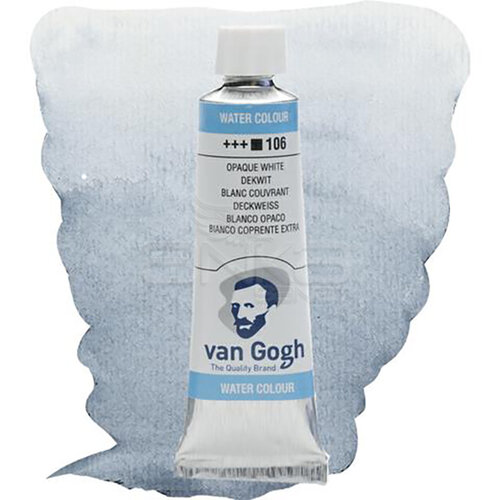 Van Gogh Tüp Sulu Boya 10ml Opaque White 106