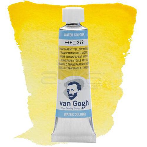 Van Gogh Tüp Sulu Boya 10ml Transp Yellow Medlum 272