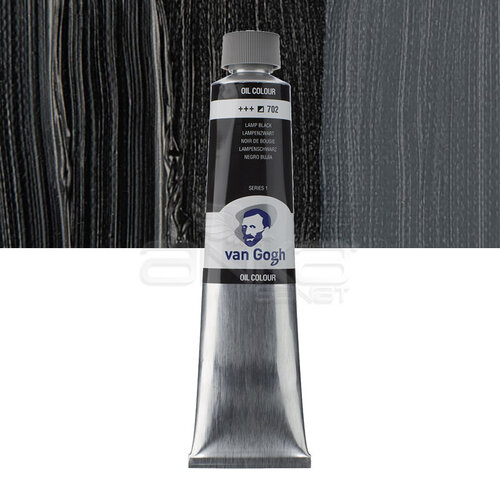 Van Gogh Yağlı Boya 200ml Seri:1 No:702 Lamp Black