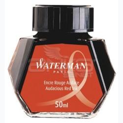 Waterman - Waterman Dolma Kalem Mürekkebi Audacious Red Ink 50ml