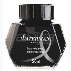 Waterman - Waterman Dolma Kalem Mürekkebi Intense Black Ink 50ml