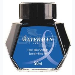 Waterman - Waterman Dolma Kalem Mürekkebi Serenity Blue Ink 50ml