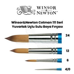Winsor&Newton 111 Seri Cotman Sulu Boya Fırçası - Thumbnail
