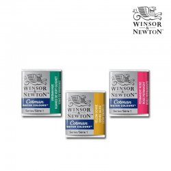 Winsor&Newton Cotman Sulu Boya 1/2 Tablet - Thumbnail