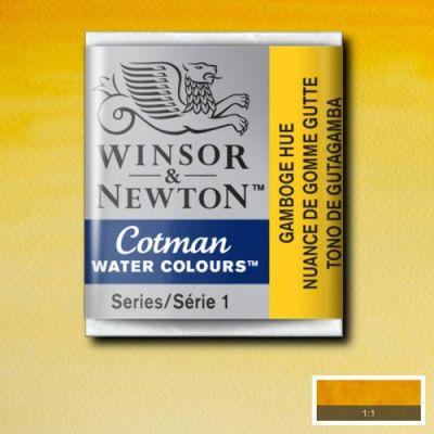 Winsor & Newton Tablet Sulu Boya No:266 Gamboge Hue - 266 Gamboge Hue
