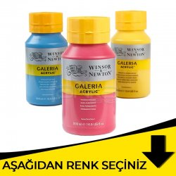 Galeria - Winsor&Newton Galeria Akrilik Boya 500ml Sarı Tonlar