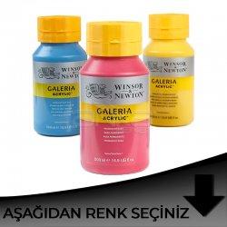 Galeria - Winsor&Newton Galeria Akrilik Boya 500ml Siyah Tonlar