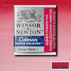 Winsor&Newton - Winsor & Newton Tablet Sulu Boya No:003 Alizarin Crimson Hue