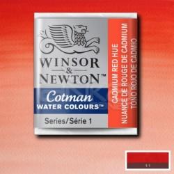 Winsor&Newton - Winsor & Newton Tablet Sulu Boya No:095 Cadmium Red Hue