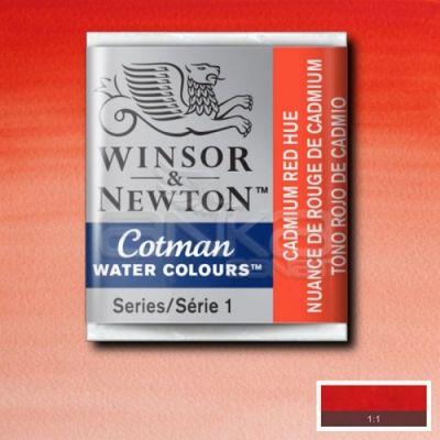 Winsor & Newton Tablet Sulu Boya No:095 Cadmium Red Hue - 095 Cadmium Red Hue