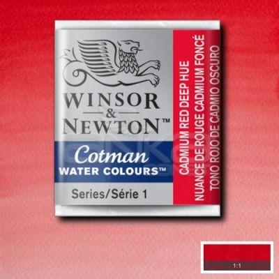 Winsor & Newton Tablet Sulu Boya No:098 Cadmium Red Deep Hue - 098 Cadmium Red Deep Hue