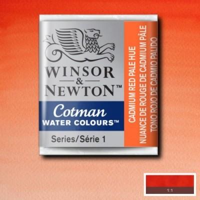 Winsor&Newton Tablet Sulu Boya No:103 Cadmium Red Pale Hue - 103 Cadmium Red Pale Hue
