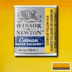 Winsor&Newton - Winsor & Newton Tablet Sulu Boya No:109 Cadmium Yellow Hue