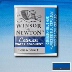 Winsor&Newton - Winsor & Newton Tablet Sulu Boya No:139 Cerulean Blue Hue