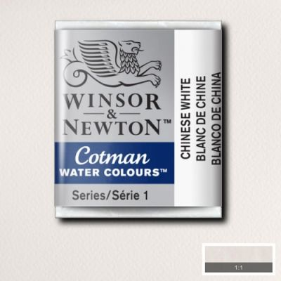 Winsor & Newton Tablet Sulu Boya No:150 Chinese White - 150 Chinese White
